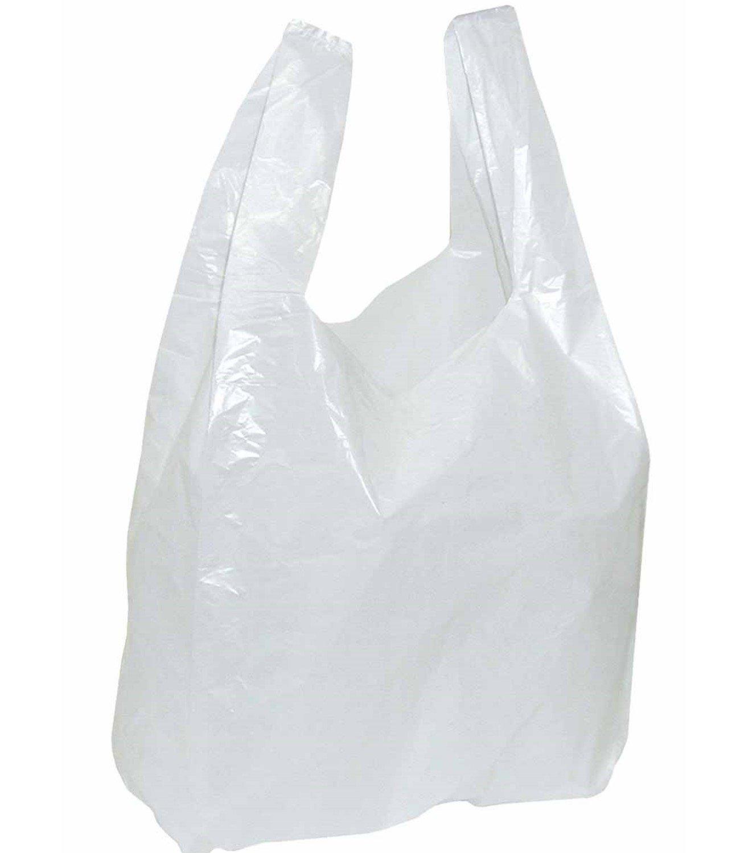 dimensioni/300/x 160/x 520/mm 2.000 sacchetti di plastica bianchi con manici