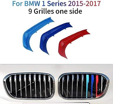 Image ofM-Colore Franjas Decorativas para Parrilla Delantera para 1 Series 116i 118i 120i 2015-2017 3 Piezas (9 Varillas)