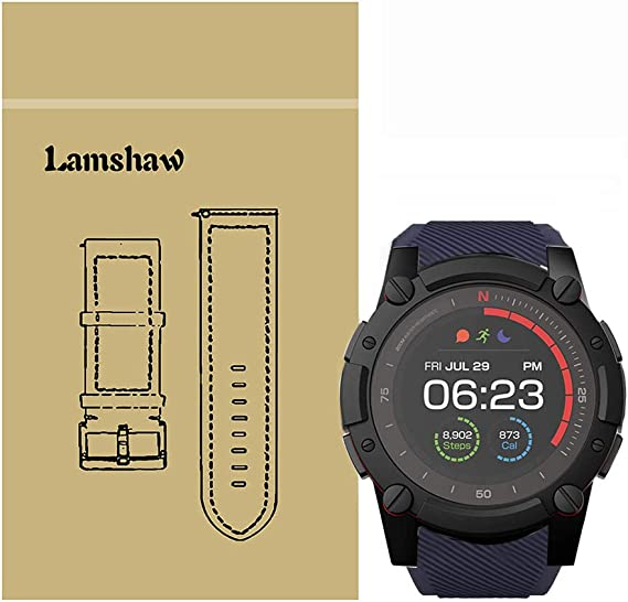 Amazon.com: for PowerWatch 2 Band, Blueshaw Classic Silicone ...