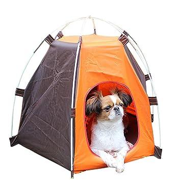 EITC Portable Folding Dog House Sun Beach Tent for IndoorOutdoor Waterproof Pet Tent Dog  sc 1 st  Amazon.com & Amazon.com : EITC Portable Folding Dog House Sun Beach Tent for ...
