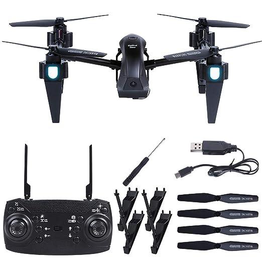 TwoCC Drone G1 WiFi Cámara 4K FPV 2.4Ghz 4Ch Altitud Alta ...