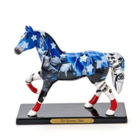 Enesco Trail of Painted Ponies from for Spacious Skies Figurine 6.75 in
