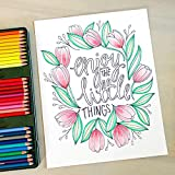 Color Happy: An Adult Coloring Book of Removable