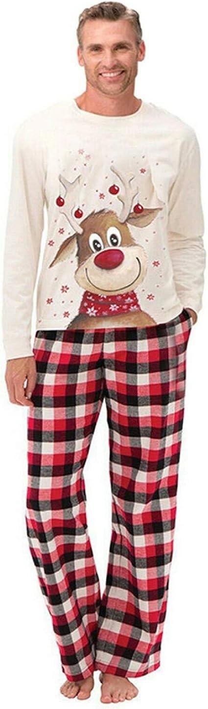 Dušial Parent-Child Pajamas Kids Men Women Sleepwear Family ...