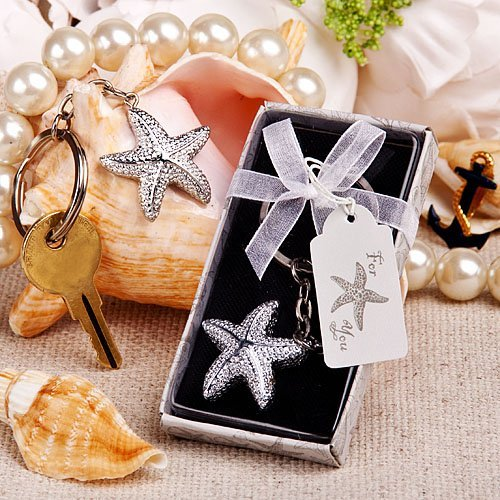 Brilliant starfish key chain 1