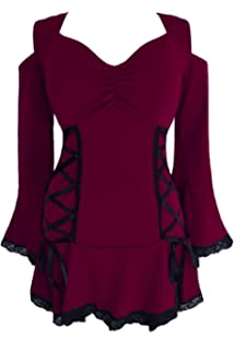 1cca3c3de92 Amazon.com  Dare to Wear Victorian Gothic Boho Women s Plus Size ...