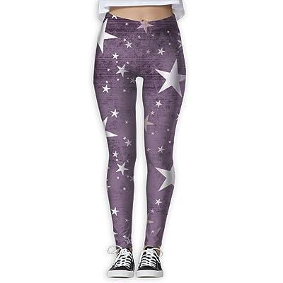 NSYGCK Star Yoga Pants for Women Crazy Tummy Control Yoga Leggings