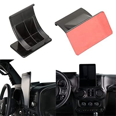 "u-Box 7""-10"" Tablet IPAD Center Console Dash Mount Bracket Holder for Jeep JK Wrangler 2011-2020: Automotive"