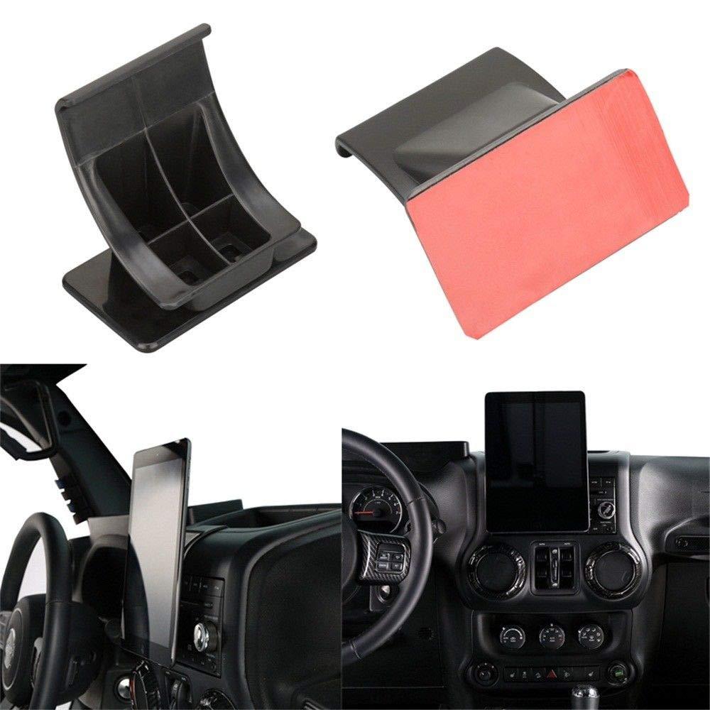 "u-Box Jeep Wrangler JK 2011-2018 Center Console Mount Bracket Holder for 7""-10"" Tablet IPAD"