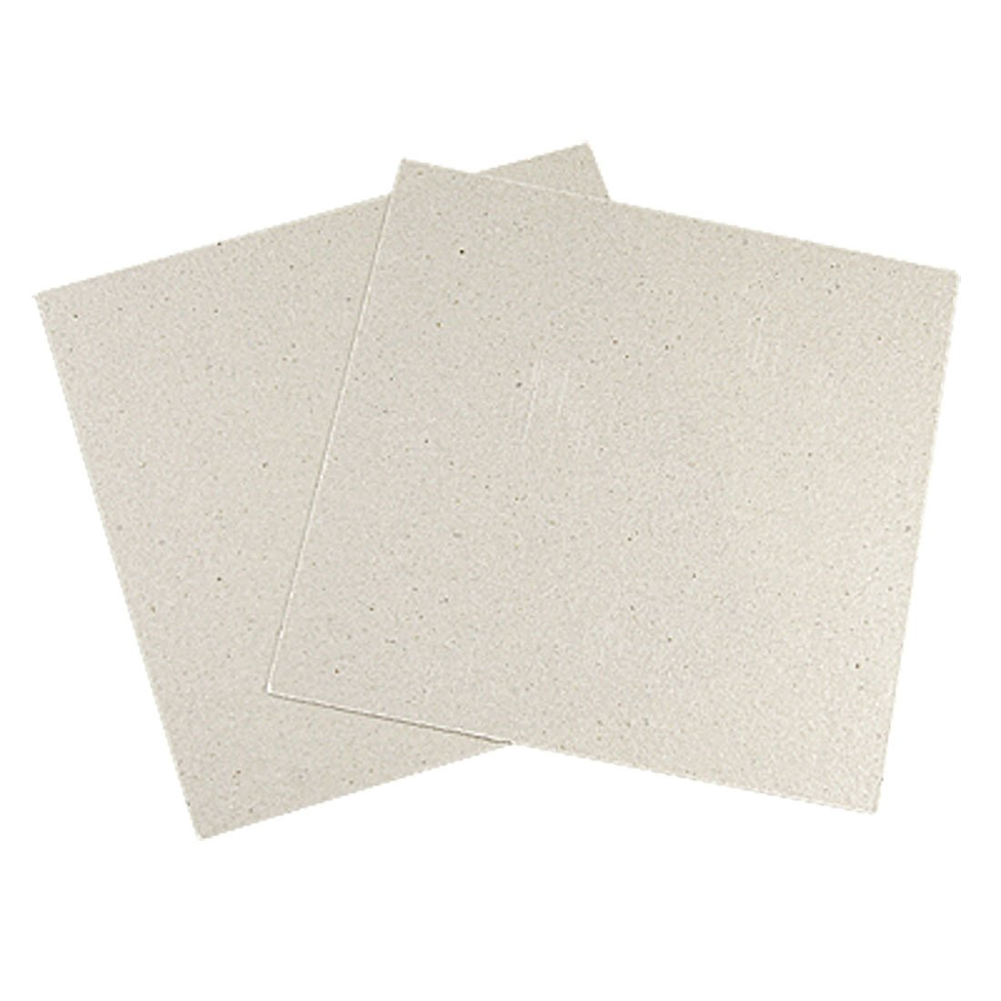 2 Pcs Replacement 12 x 12cm Mica Plates for Microwave Oven uxcell SYNCELEC007047