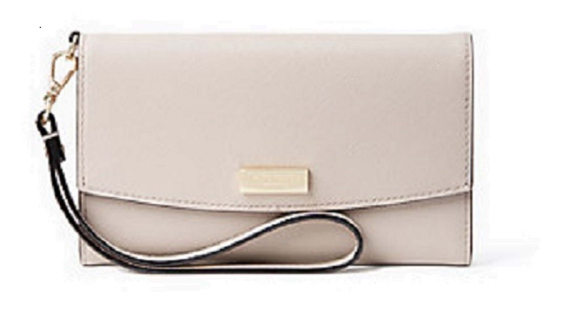 KATE SPADE LAUREL WAY I PHONE 6/6 PLUS WRISTLET CARD CASE WLRU2666 (Almondine) by Kate Spade New York