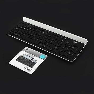 FD IK6650 - Teclado multiplataforma inalámbrico Bluetooth, 96 ...