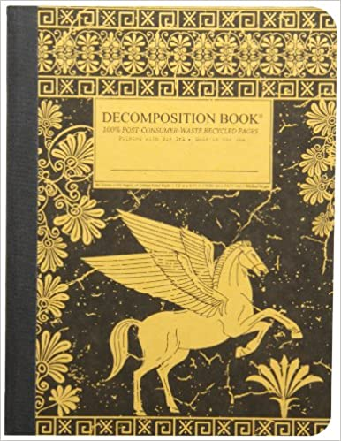 Pegasus Decomposition Book: College-Ruled Composition Notebook With