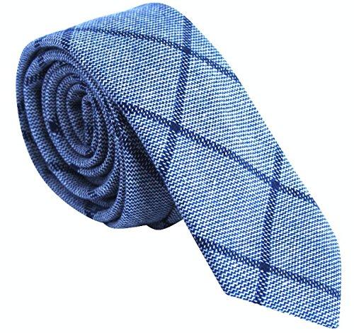 Light Blue Flower Tie - 9