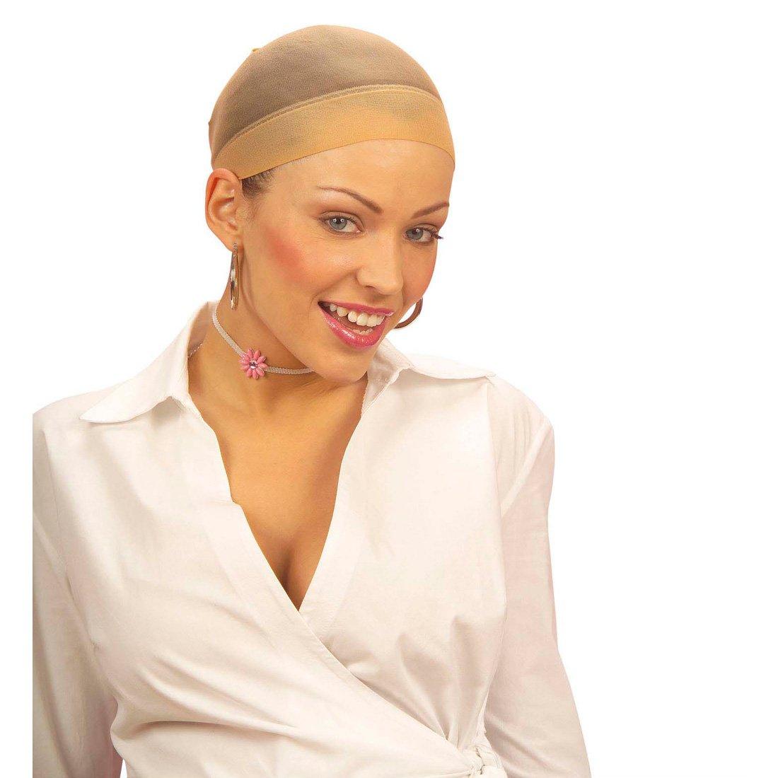Cuffia per capelli da indossare sotto la parrucca - retina per contenere capelli di qualsiasi lunghezza NET TOYS