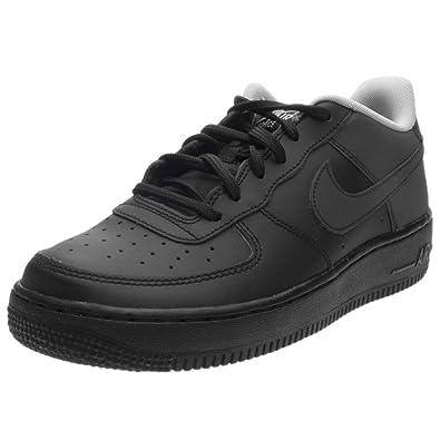 Nike Kids Air Force 1 LV8 GS, Black/Black-Wolf Grey, Youth