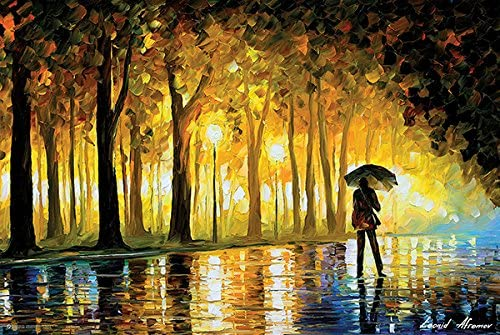 Bewitched Park Poster By Leonid Afremov 36 x 24