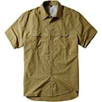 Men's Quick-Dry Nylon Breathable Outdoor Sun UV Protection Fishing Short Sleeve Shirt #5053