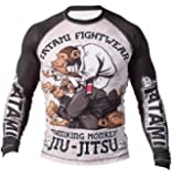 Tatami Rashguard Thinker Monkey - Funktionsshirt, BJJ MMA Compression Grappling Shirt