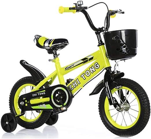 Jiamuxiangsi Niños Bicicleta Bicicleta con Ruedas de Entrenamiento ...