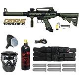Tippmann Cronus Paintball Marker Gun -Tactical Edition- Olive Player Package