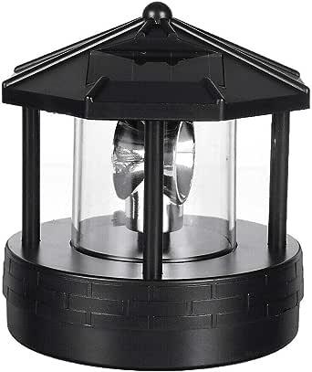 Lámpara giratoria LED para jardín con luz de faro