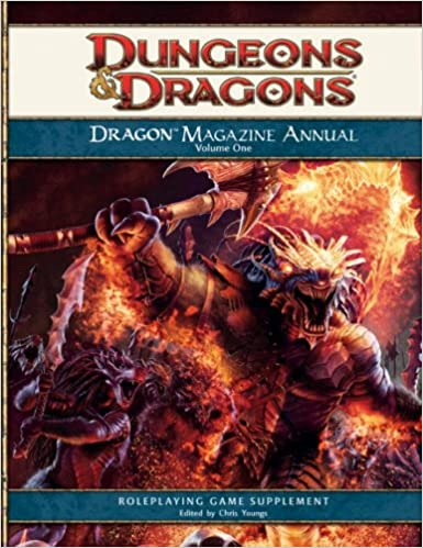 Dragon Magazine Annual, Volume 1: A 4th Edition D&D Compilation
