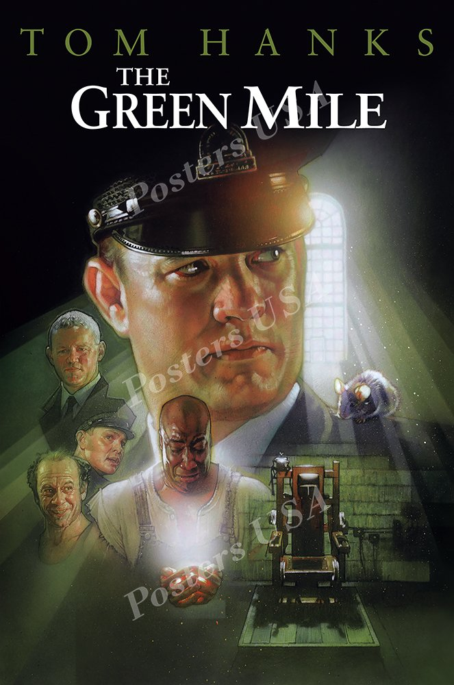 """Posters USA - The Green Mile Movie Poster GLOSSY FINISH- MOV972 (24"""" x 36"""" (61cm x 91.5cm))"""