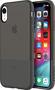 "Incipio NGP Translucent Case for iPhone iPhone XR (6.1"") with Flexible Shock Absorbing Drop Protection - Black"