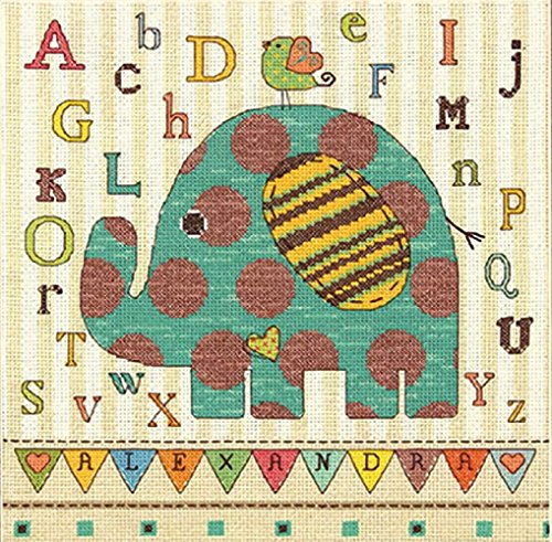 Dimensions Crafts Counted Stitch Elephant