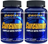 Curcumin, 2 Pack (180 Capsules) Review