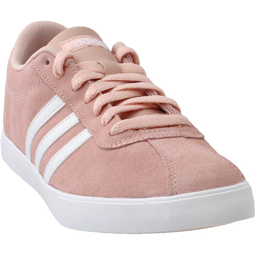 adidas Women's Courtset Sneaker B074CGC2RH 10 B(M) US|Vapor Pink/White/Vapor Pink