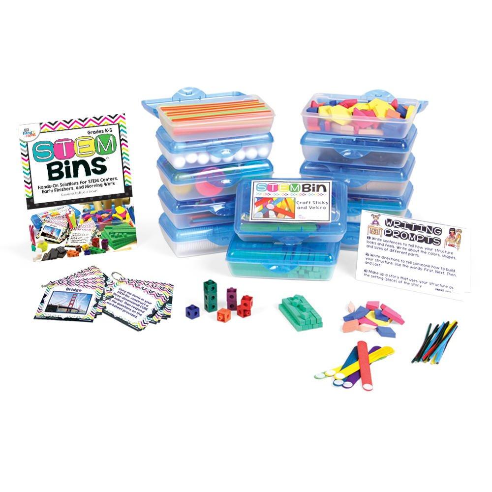 ETA hand2mind STEM Bins by Brooke Brown, Essential Kit