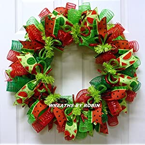 Water Melon Wreath, Summer Wreaths - Item 2687 12