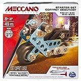 Meccano - 6026713 - Jeu de Construction - Coffret Débutant - Modèle Aléatoire
