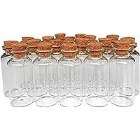 MINGZE 20 Piezas 20 ML Pequeñas Botellas