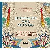 Postales del mundo (Arte Terapia) (Spanish Edition)
