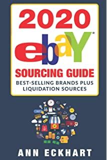 2020 Ebay Sourcing Guide Large Print Edition Eckhart Ann 9781654329877 Amazon Com Books