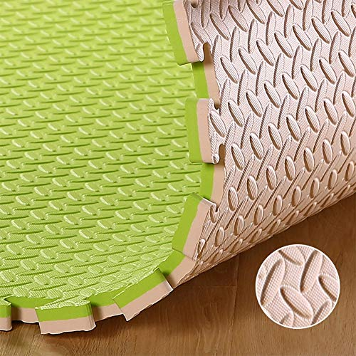 XJJUN Thick Soft Foam Play Mats ,Extra EVA Foam Interlocking Tiles For MMA, Exercise, Gymnastics And Home Gym Protective…