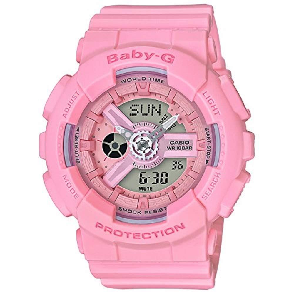 0581fab43bd9 Amazon.com: Casio Baby-G G-Shock BA-110 Series BA110-4A1 46.3mm Resin Women's  Watch (Pink): Watches