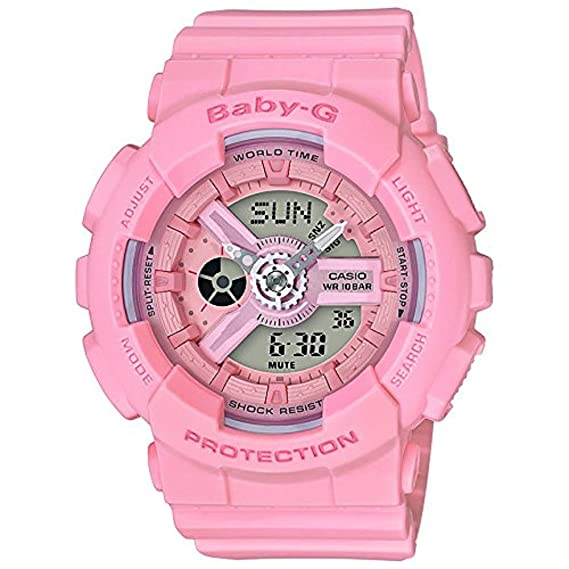 395d77d6eebdc3 Image Unavailable. Image not available for. Colour: Casio Baby-G G-Shock BA- 110 ...