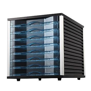 Secadora De Alimentos Secador de alimentos - ABS de grado alimenticio, 8 capas, gran