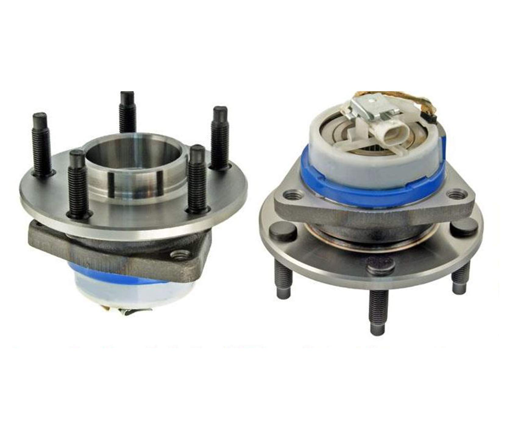 100% New Left & Right New Rear Wheel Hub Bearing for Chevrolet Corvette 97-08 by Mac Auto Parts