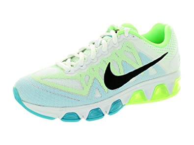 best service c91c8 51484 Nike Women s Air Max Tailwind 7 White Black Clearwater Flsh Lm Running Shoe  10 Women US  Amazon.in  Shoes   Handbags