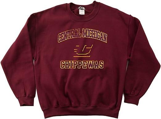 Crewneck Sweatshirt NCAA mens 50//50 Blended 8 oz