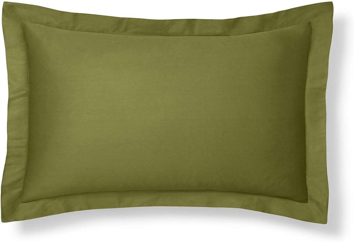 Sage Green Pillow Sham, Standard Size Pillow Sham Decorative Olive Pillow Shams Tailored