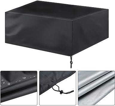 Funda protectora contra el polvo para mesa de billar con cordón y bolsa de almacenamiento, tela Oxford, impermeable para mesas de billar, para interiores y exteriores, para muebles y mesas: Amazon.es: Bricolaje