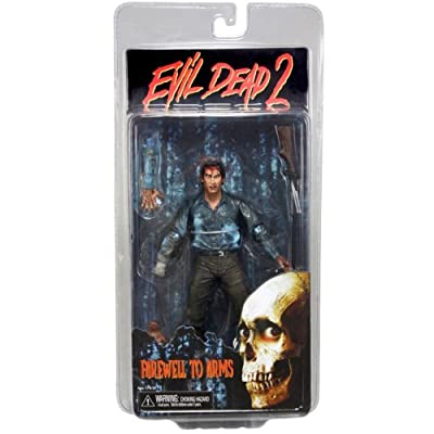 NECA Evil Dead 2 Action Figure Farewell To Arms Ash: Toys & Games