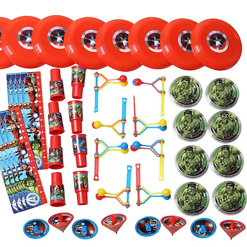 Amscan Avengers Birthday Party Mega Mix Assorted Favor