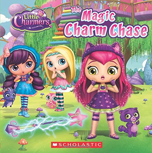 The Magic Charm Chase Little Charmers 8x8 Storybook